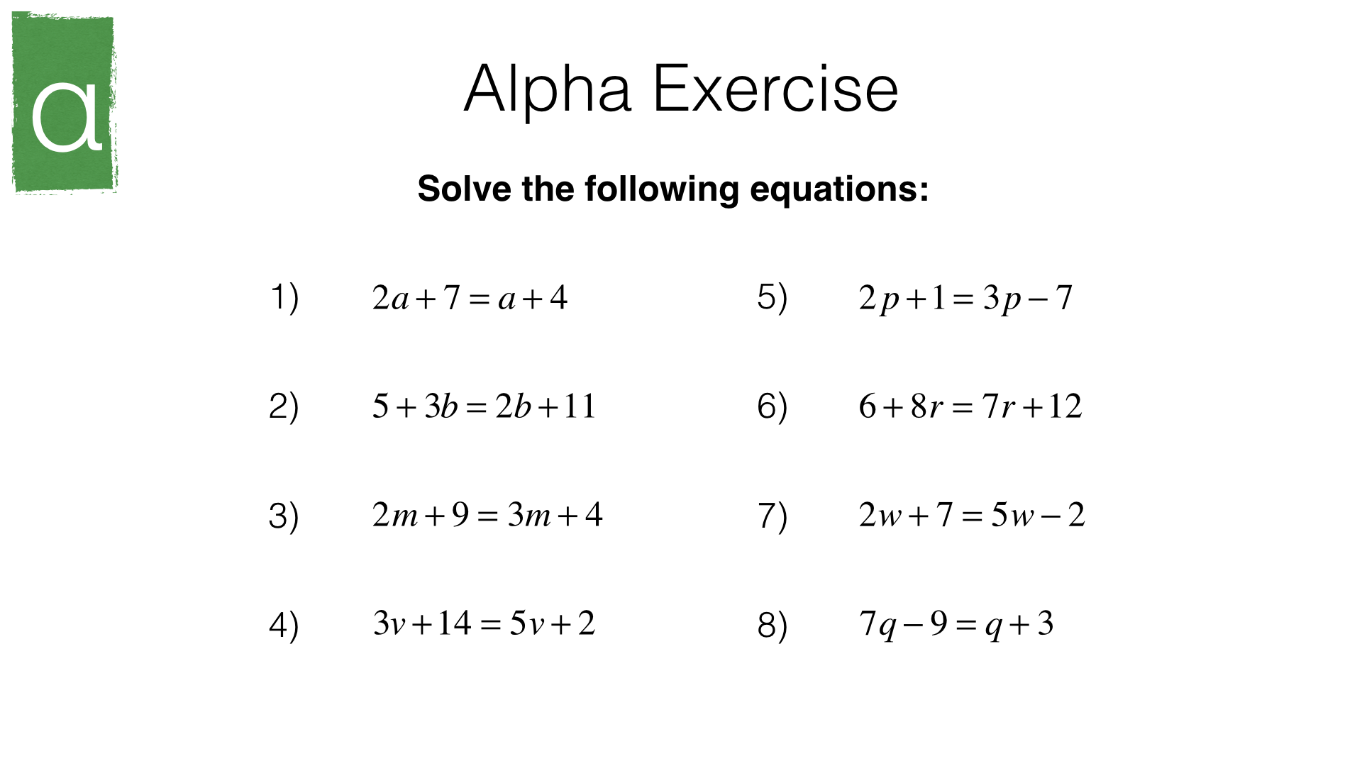 How to learn maths formulas equation