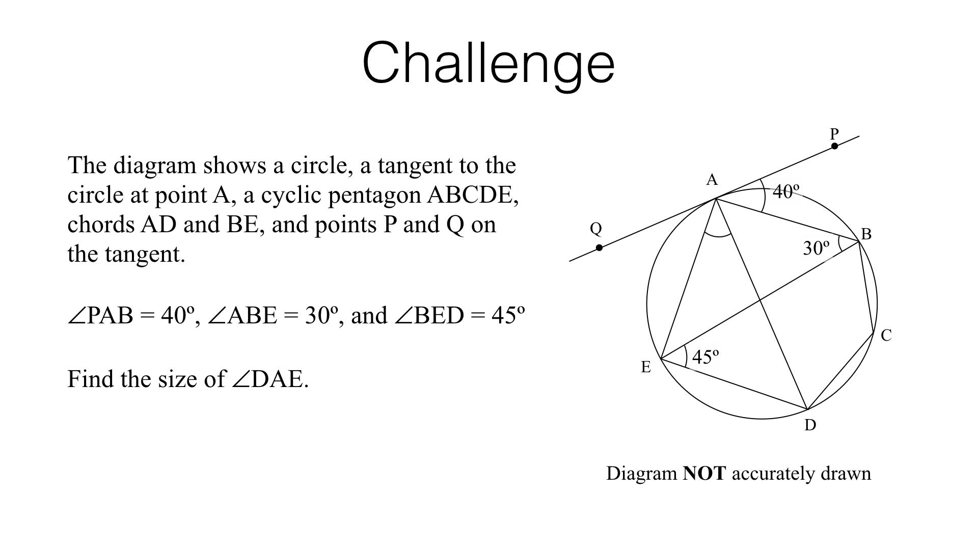 G10a – Circle theorems – BossMaths com