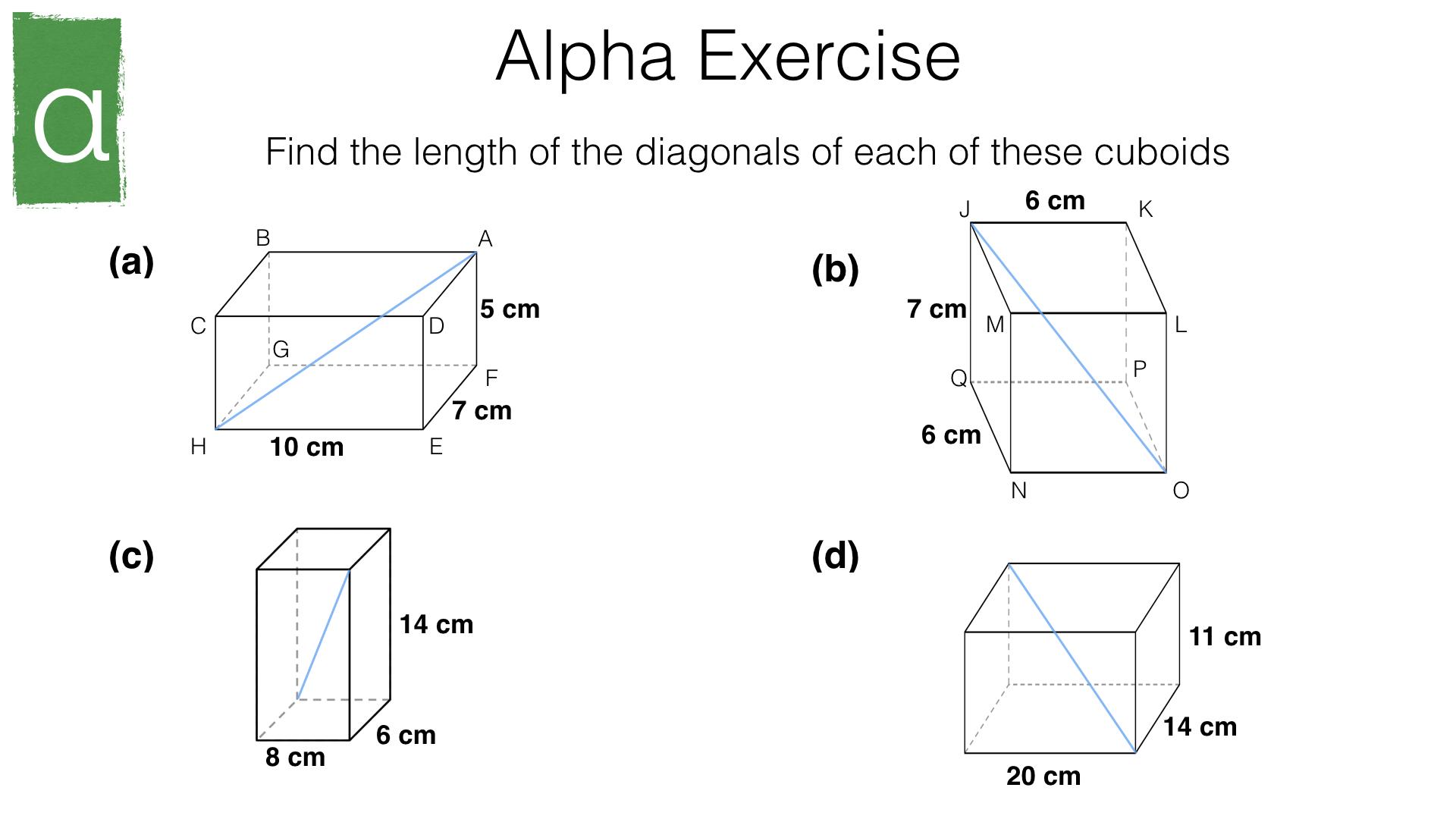 G20a Pythagoras Theorem Bossmaths Com