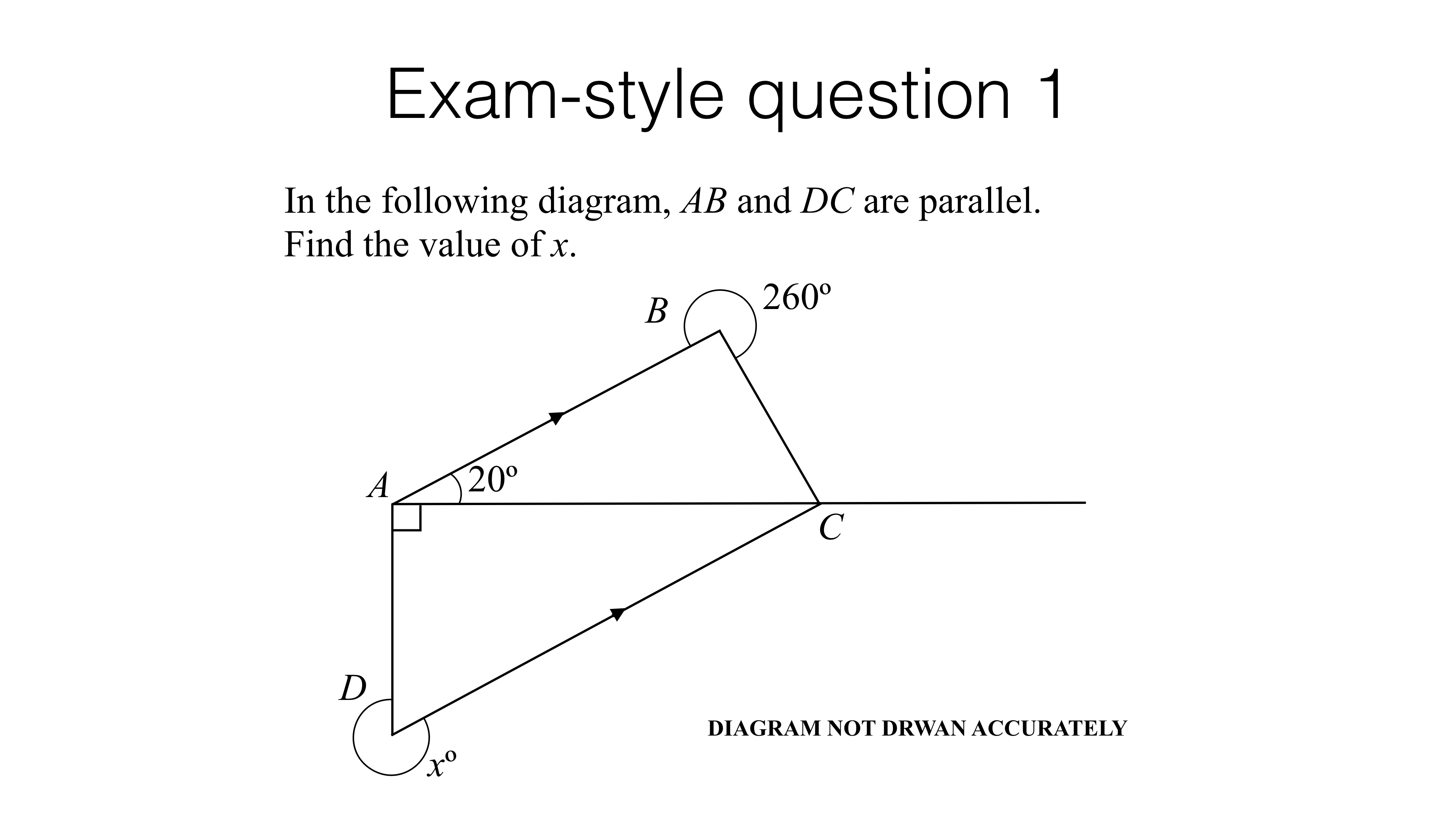 G25a – Simple geometric proofs – BossMaths.com Intended For Geometry Worksheet Beginning Proofs