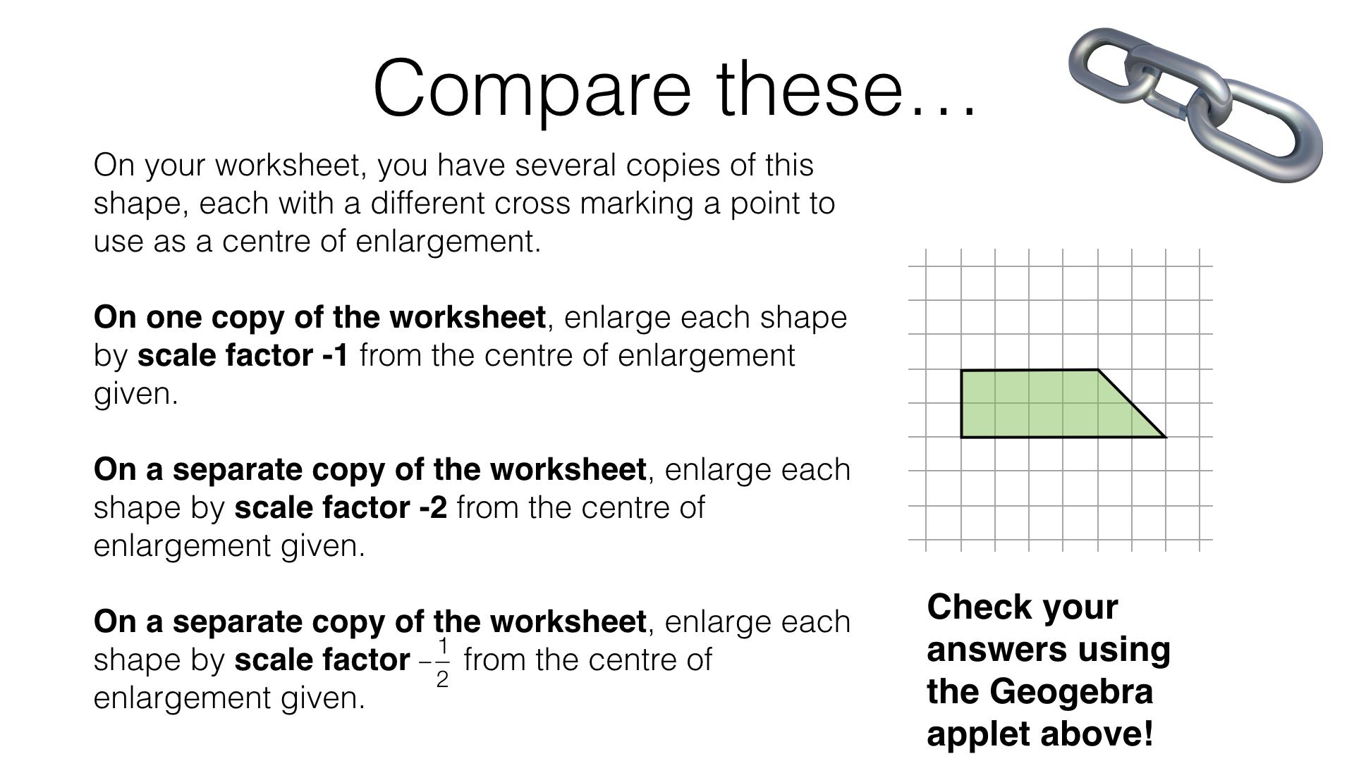 G7e – Enlargement – BossMaths.com