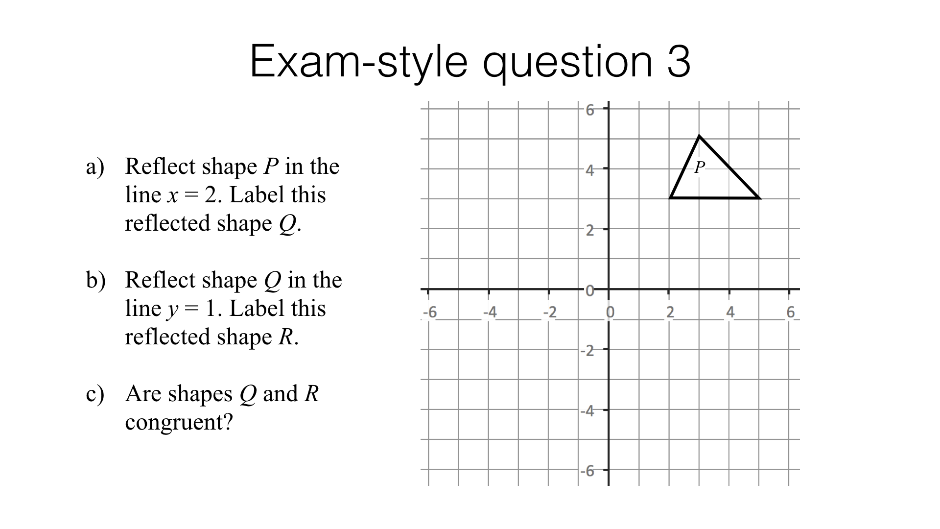 Worksheets Transformations And Congruence Worksheet g7f congruence similarity and transformations bossmaths com this lesson is made up of exam style questions on similarity