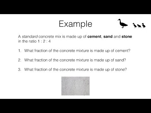 R8a – Relating ratios to fractions and to linear functions video 3 of 3