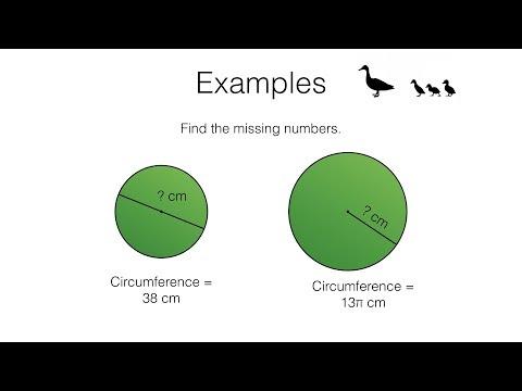 G17b – Circumference of a circle video 2