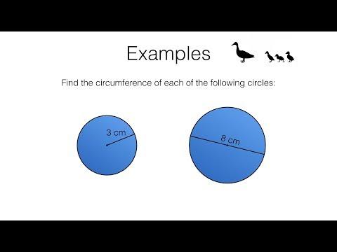 G17b – Circumference of a circle video 1